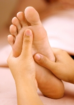 Reflexology & Reiki. foot